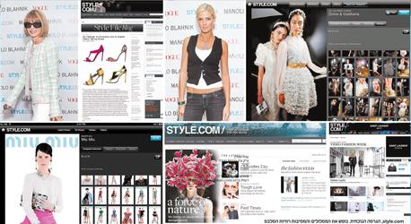 , צילום: style.com , הגרסה הנוכחית. נוטש את המסלולים והמסיבות רוויות הסלבס