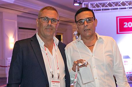 מימין: רוני מאנה וגיא בלושינסקי