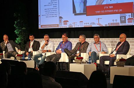 מימין: עוזי יצחקי, אבי פנטורין, דני לאובר, סימון אלפסי, אשר גרין, אבי ברגר וירון קסטנבאום