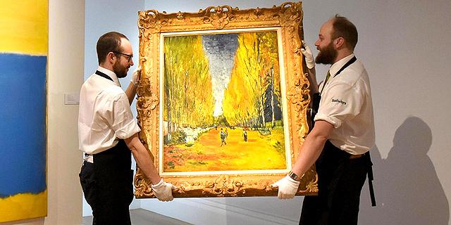 ציור של ואן גוך נמכר ב-66 מיליון דולר במכירה פומבית בניו יורק