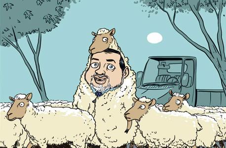 קריקטורה של ליאב צברי. החופש לצחוק על מה שכואב
