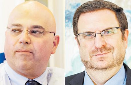 מימין: בריס וזקן. המפקח על הבנקים מעמיס קשיים על מבקשי רישיון סליקה