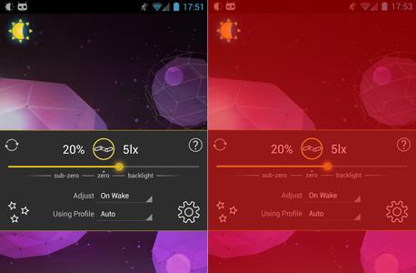 אפליקציות אנדרואיד lux