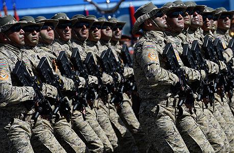 חיילי קומנדו של צבא אזרבייג
