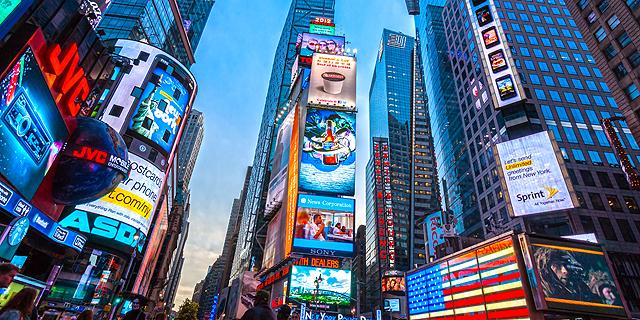 טיימס סקוור - ניו יורק, צילום: שאטרסטוק