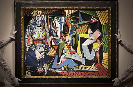 היצירה Les femmes d'Alger של פיקאסו. על פי הערכות תימכר במחיר הגבוה בעולם