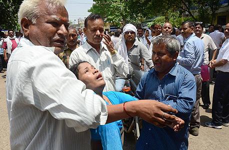 רעידת האדמה השנייה בנפאל, צילום: אי פי איי