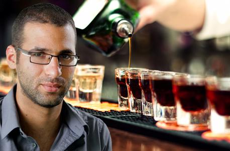וידאו עמרי מילמן אלכוהול, צילום: אוראל כהן