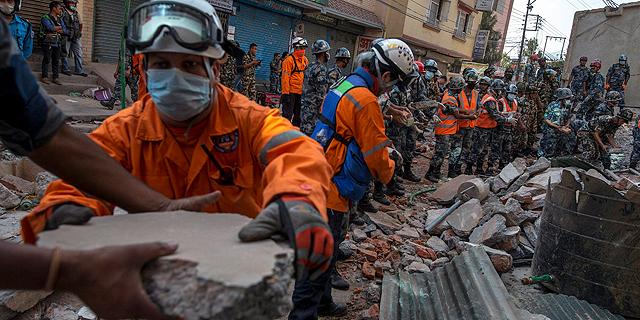 רעידת אדמה בנפאל, צילום: רויטרס