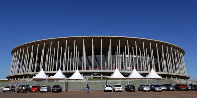 האצטדיון היקר ביותר בברזיל נהפך לחניון
