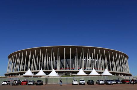 האצטדיון. פיל לבן באמצע ברזיליה, צילום: איי פי