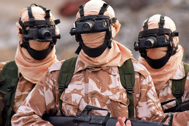 SAS, בריטניה. לא מסתדרים בלעדיה בעיראק