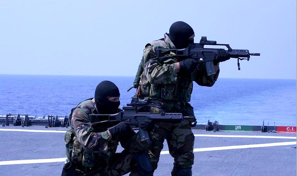 יחידת הכוחות המיוחדים הספרדית. לפעמים כל המתגייסים מודחים