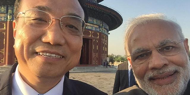 ויש גם סלפי: הודו וסין חתמו על הסכמי סחר בהיקף 22 מיליארד דולר