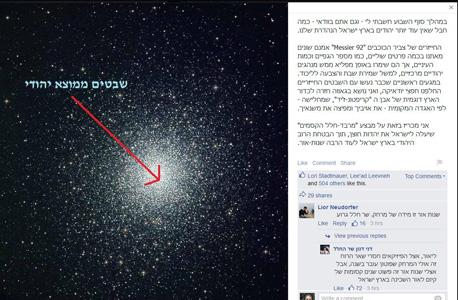 דני דנון שר החלל פייסבוק