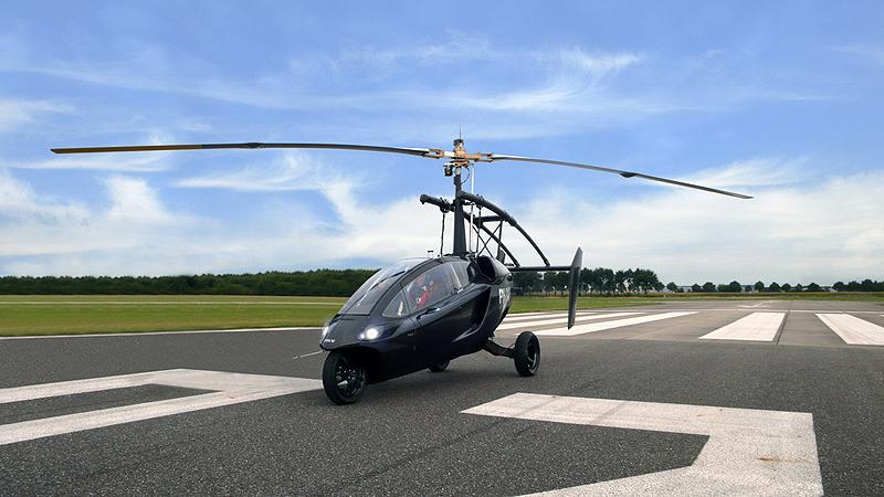 מכונית מעופפת של PAL-V, צילום: pal-v.com