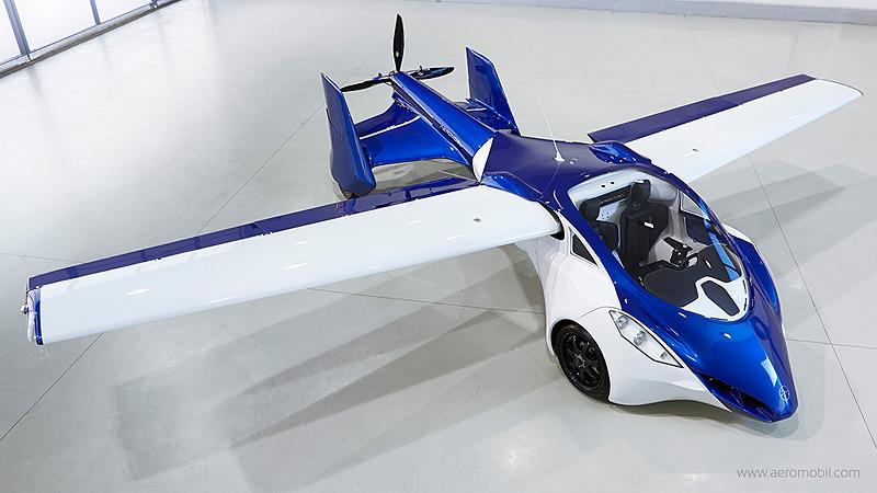 מכונית של אירומוביל, צילום: aeromobil.com