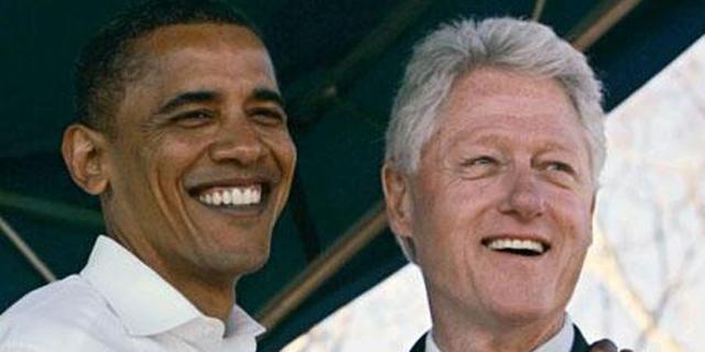 ביל קלינטון עקץ את ברק אובמה בטוויטר; אובמה לא נשאר חייב