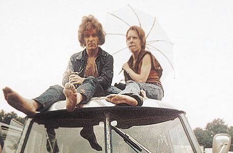 """צופים בפסטיבל וודסטוק, 1969. ססה: """"השימוש בסמים האלה לכיף לא נעצר אלא רק התגבר. מה שההוצאה מחוץ לחוק כן עשתה זה לעצור את המחקרים המדעיים"""", צילום: איי פי"""