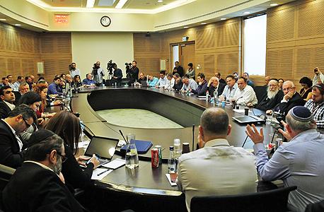 ועדת הכספים של הכנסת בדיון על מצב בית החולים הדסה, צילום: עטא עוויסאת