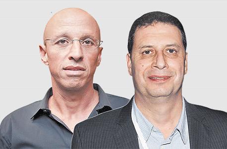 """מימין: מנכ""""ל yes רון אילון ומנכ""""ל HOT אילן צחי. נטפליקס הפסיקה למכור"""