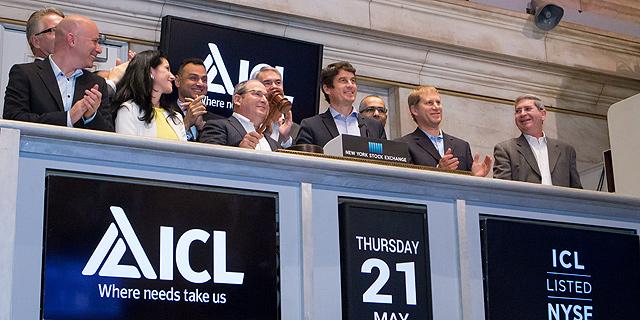 בכירי כיל, צילום: NYSE/Amy Sims