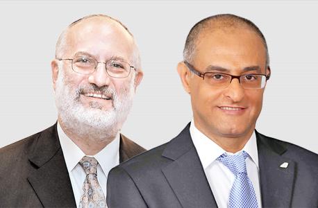 מימין דוד מימון ו אדוארדו אלשטיין, צילום: סיון פרג', אוראל כהן