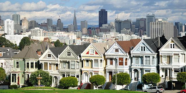 סן פרנסיסקו, מחירי הדיור זינקו. החברות רוצות שהעובדים יגורו קרוב, צילום: disfrutasanfrancisco.com