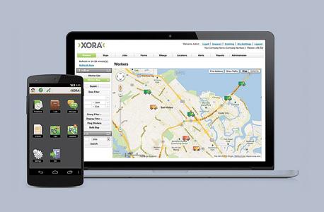 אפליקציית Xora