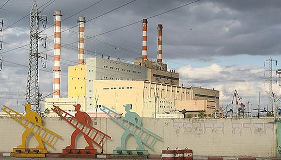 תחנת כוח של חברת החשמל, צילום: אלעד גרשגורן