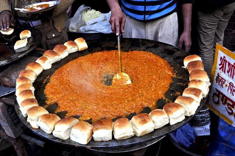 דוכן אוכל בהודו