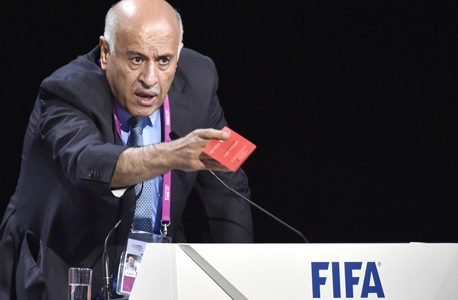 Jibril Rajoub, head of the Palestinian Football Association. Photo: AFP