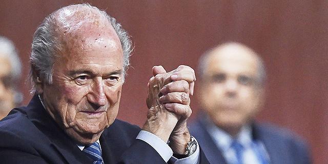 """נשיא פיפ""""א לשעבר ספ בלאטר, צילום: איי אף פי"""