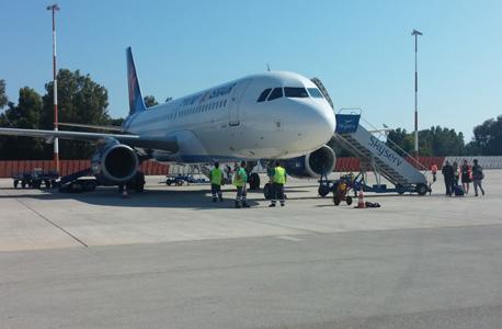 מטוס ישראייר טיסה, צילום: כרמית פלר