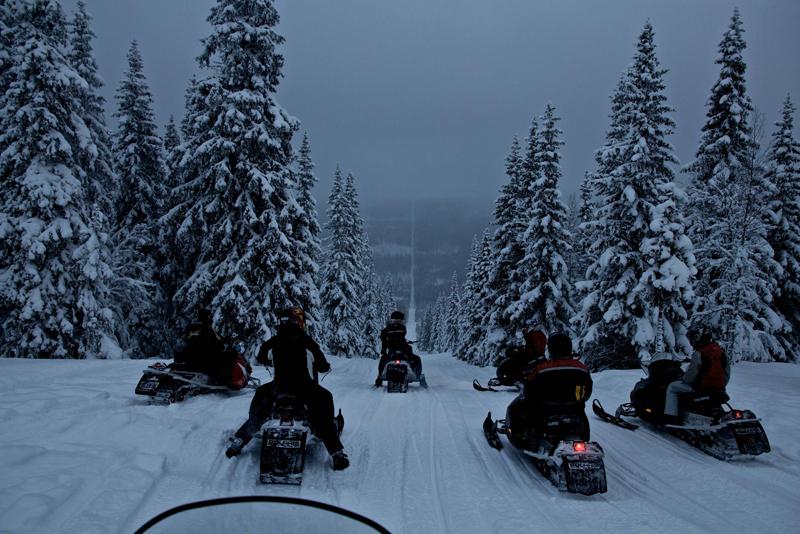 גבול נורבגיה-שוודיה. מוקד עלייה לרגל, צילום: HAVARD DALGRAV / CATERS NEWS