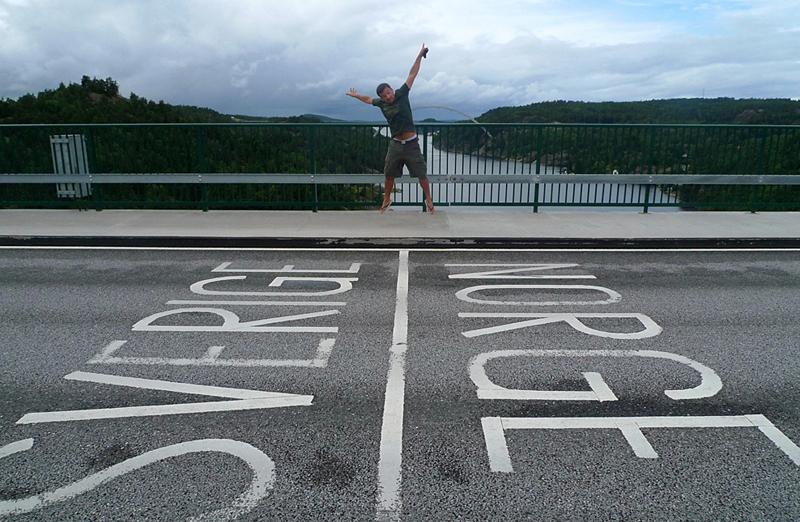 גשר אורסונד בגבול דנמרק - שוודיה, צילום: RodaLarga, Flickr