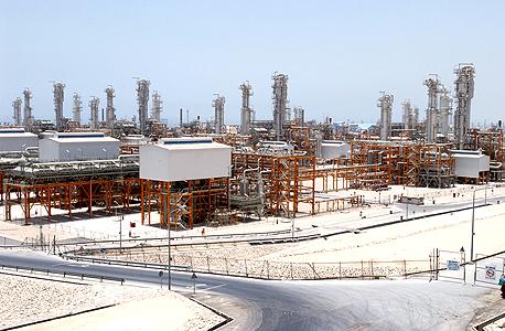 שדה גז בדרום איראן