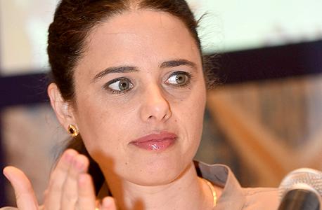שרת ה משפטים איילת שקד ב כנס עורכי דין ב אילת, צילום: יאיר שגיא
