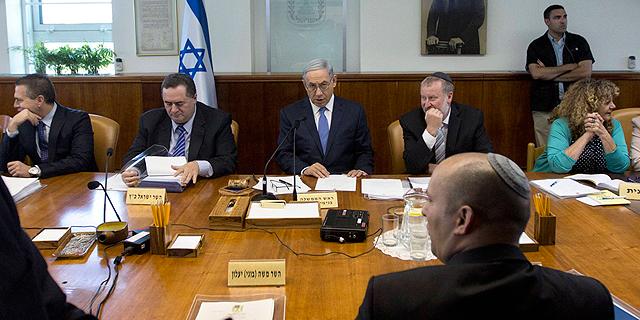 ישיבת הממשלה. גרונר פעל מול חברת business intelligence הישראלית, צילום: איי פי