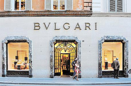 סניף של תכשיטי בולגרי ברומא