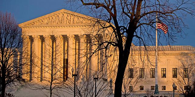 """בית המשפט העליון בארה""""ב, צילום: בלומברג"""