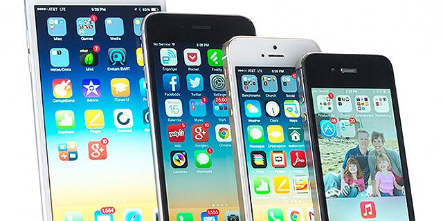 מכשירי אייפון לדורותיהם