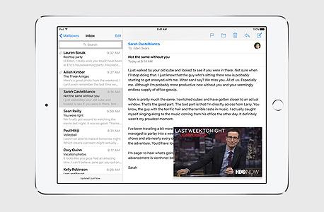 אייפד אפל IOS 9