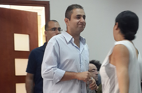 ערן מלכה היום בבית המשפט, צילום: זוהר שחר לוי