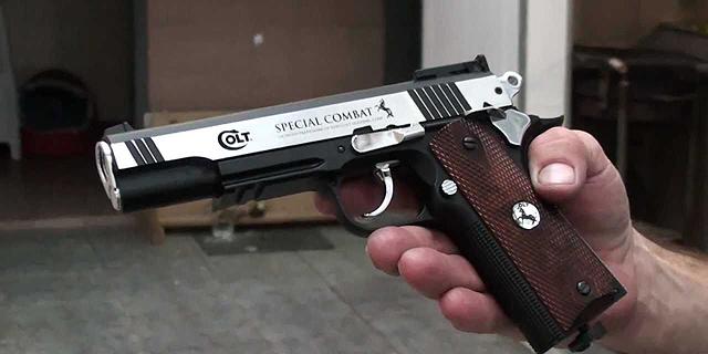 אקדח של קולט. החברה מבקשת הגנה מפני הנושים, צילום: יוטיוב