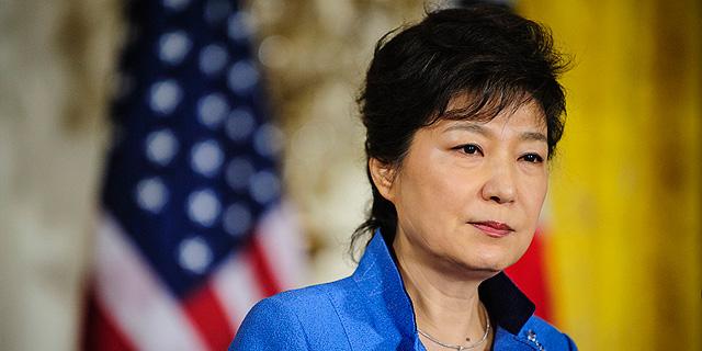 נשיאת דרום קוריאה Park Geun-hye , צילום: בלומברג