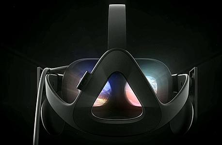 אוקולוס ריפט קסדה משקפים מציאות מדומה VR פייסבוק