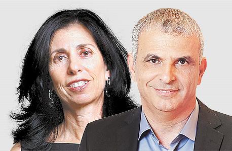 מימין משה כחלון ו דורית סלינגר, צילום: אלעד גרשגורן, אוראל כהן