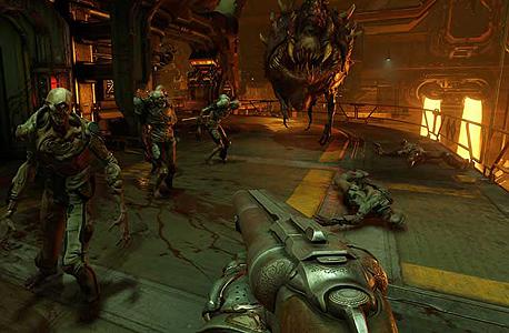 רוצה לשחק ב-Doom על הלפטופ של העבודה? אין בעיה