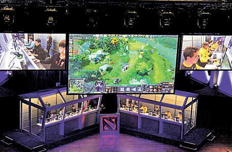 A gaming tournament